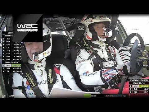 WRC - Rallye Monte-Carlo 2019: Kris Meeke having fun in his Toyota Yaris WRC