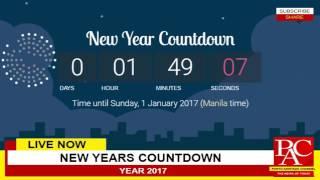 Livestream New Years Countdown Year 2017 Happy New Year