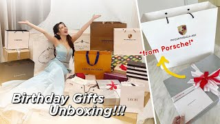 Opening my Birthday Gifts (Thank you Porsche!!! I love it!!!)