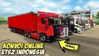 Konvoi Truk Kontainer Online Multiplayer - Euro Truck Simulator 2