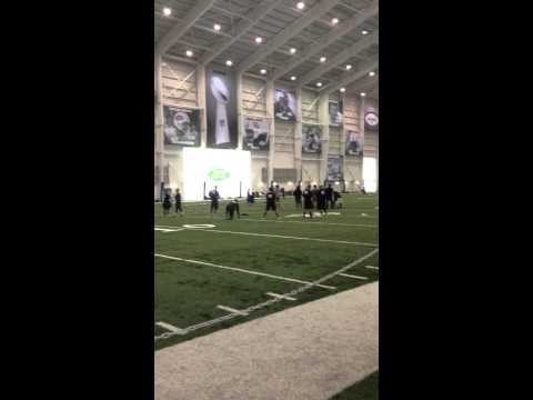 Lauren Silberman first kick at combine