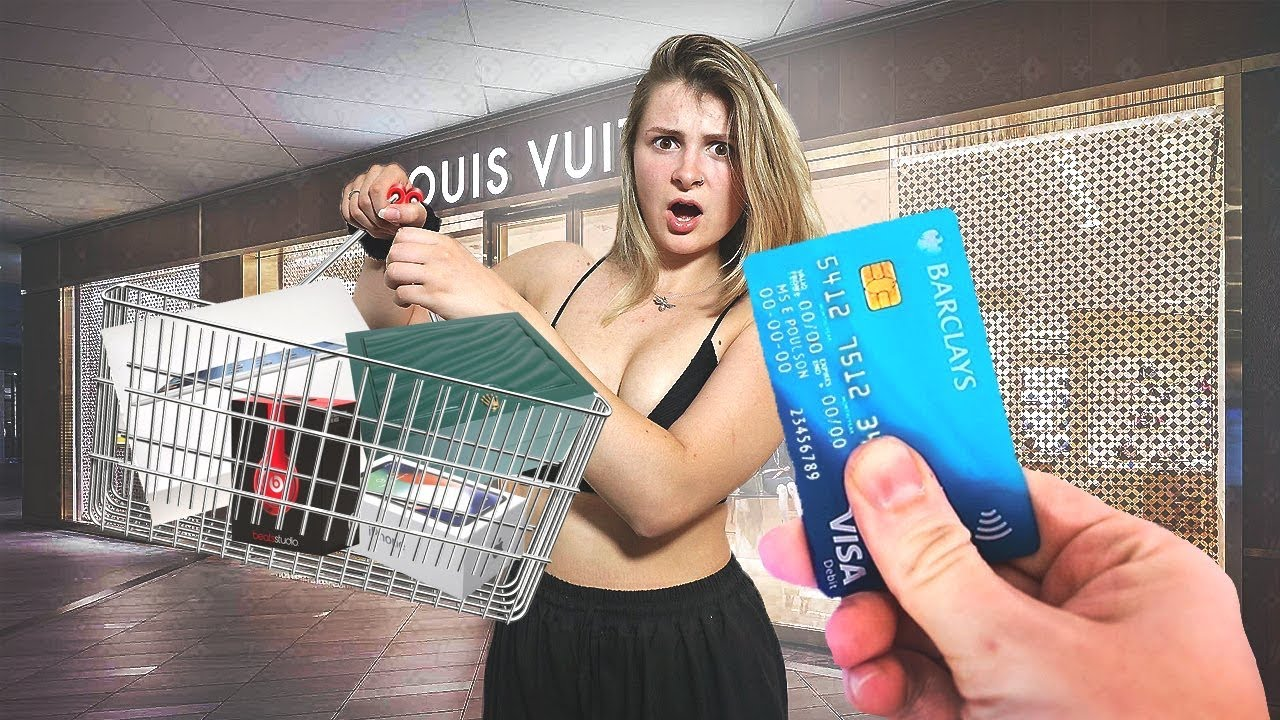 PROVIDING MY SWEETHEART MY CHARGE CARD FOR 15 MINUTES! * NO SPENDING PLAN * thumbnail