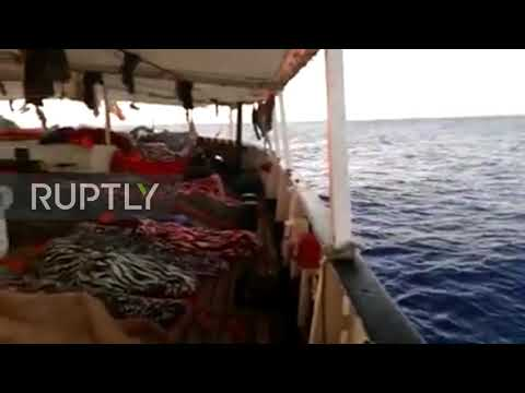 Italy: Migrants remain stranded aboard Open Arms as standoff drags on