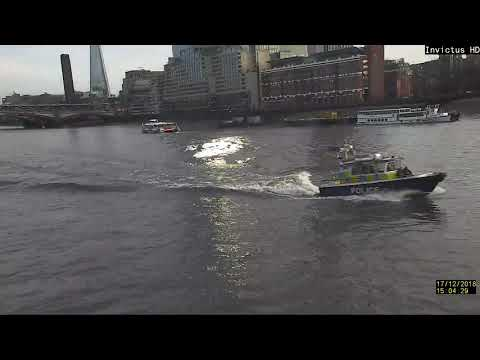 Scan-360 Detecting Boats On The River Thames