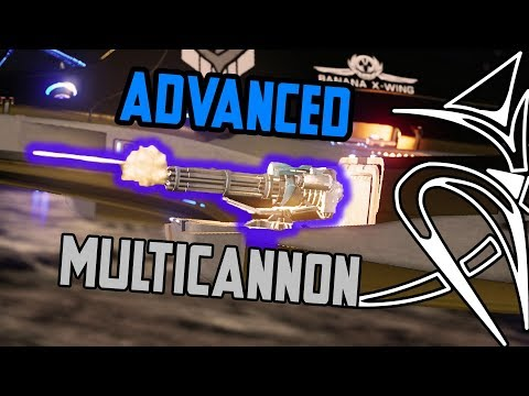 Advanced multicannon  : lazy and stupid [Elite Dangerous]