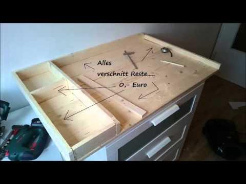Kinderbett Wickelkommode Beistellbett bauen