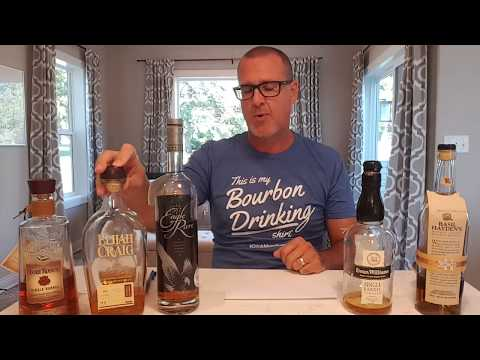 My Top 5 bourbon's for beginners, reviewed!!! Readily available.