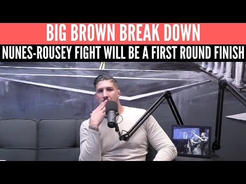 Brendan Schaub Predicts First Round Finish in Nunes-Rousey Fight at UFC 207