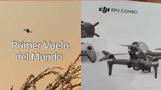 Drone FPV de DJI Primer Vuelo