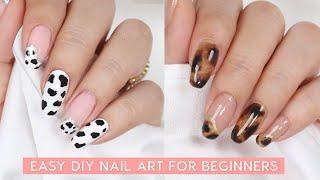 Easy DIY Nail Art For Beginners