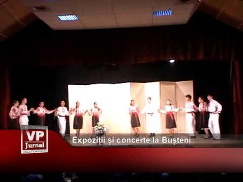Expoziții și concerte la Bușteni