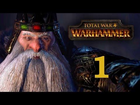 Прохождение Total War: WARHAMMER #1 - Начало эры Возмездия [Гномы]