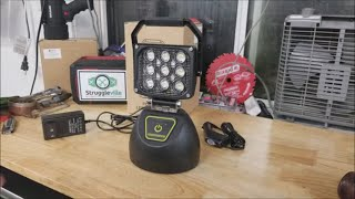 Check Out This Rechargeable LED Work Light By WEISIJI