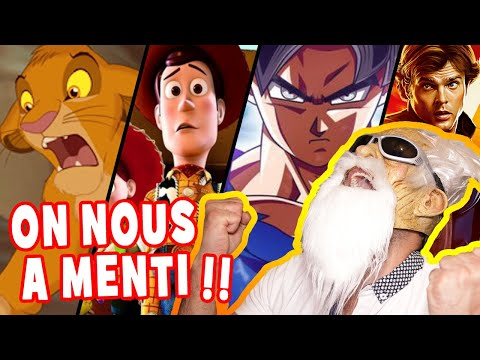 LES PIRES PLAGIATS DU DESSIN GAME!! (COUCOU DISNEY, DRAGON BALL,STAR WARS...)