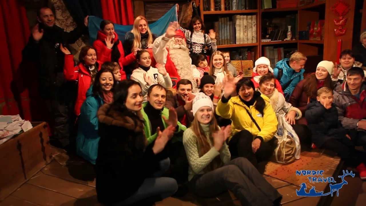 Новогодний тур в финскую Лапландию от Nordic Travel