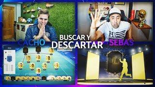 TOCAN MUCHOS CAMINANTES IF!!   BUSCAR Y DESCARTAR GIGANTE VS SEBAS!!   FIFA 19