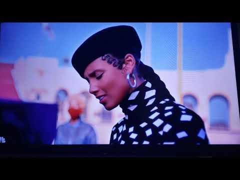 Alicia Keys Black National Anthem NFL first game back (coronavirus) 2020