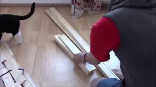 Сборка стеллажа Альберт из IKEA