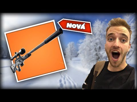 NOVÁ SNIPERKA VE FORTNITE BATTLE ROYALE!