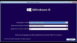 Windows 8 Installation and Configuration