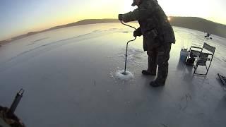 Владивосток зимния рыбалка