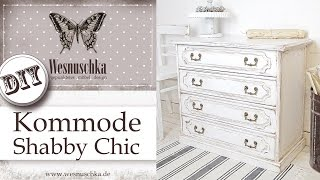 DIY: PATINA IM SHABBY CHIC | How to shabby chic furniture with patina