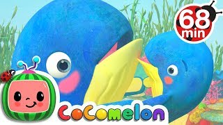 Mom and Baby Blue Whale Lullaby Song | +More Nursery Rhymes & Kids Songs - Cocomelon (ABCkidTV)