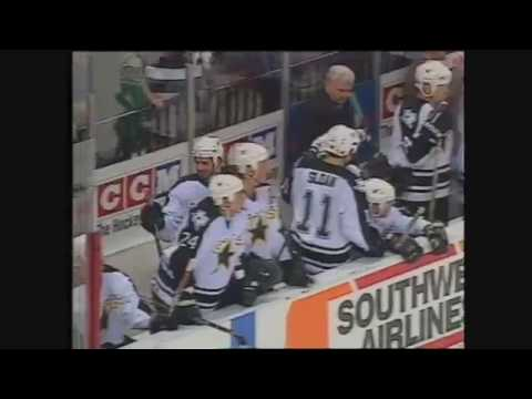 Sergei Zubov shows how to move puck during power play (1999)