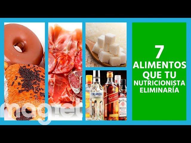 Los 7 alimentos que un nutricionista eliminaría de tu dieta si quieres perder peso