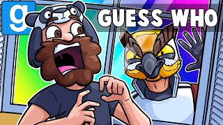 Gmod Guess Who Funny Moments - Scaring Panda in Nuketown! (Garry's Mod)