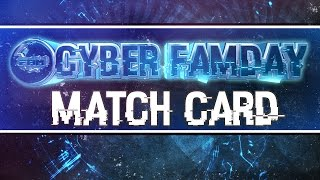 Cyber FaMday Official Match Card - Coming live on October 17th, 2015 - WWE 2K15