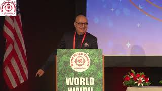 Shri Anupam Kher speaking at WHC 2018 Inaugural Session