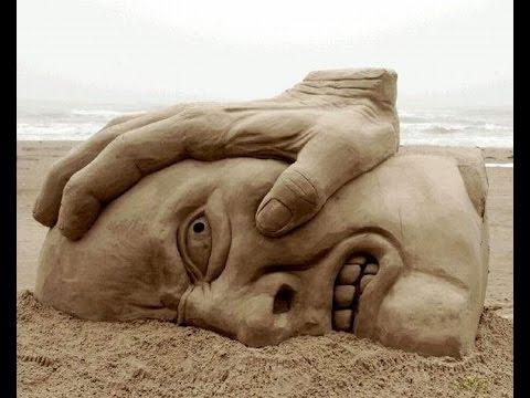 , title : 'Лучшие скульптуры из песка: удивительные скульптуры из песка'