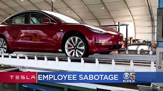Telsa CEO Musk Irate After Sabotage By Employee