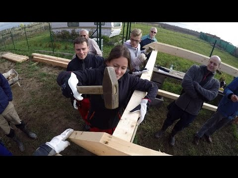 Workshop: Sestavení krovu připraveného na CNC stroji