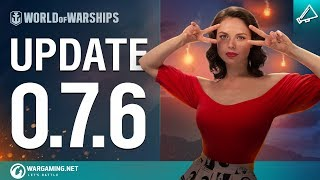 Dasha Presents Update 0.7.6 | World of Warships