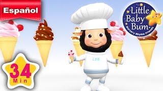 La canción de los helados Parte 2 | Canciones infantiles | ¡34 minutos de recopilación LittleBabyBum