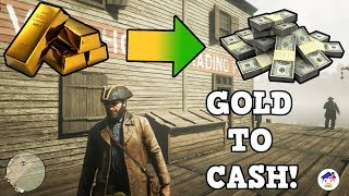 HOW TO SELL GOLD BARS IN RED DEAD REDEMPTION 2 AND ALL FENCE LOCATIONS