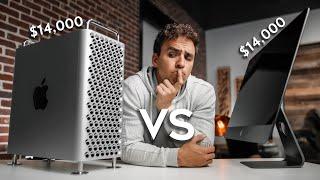 $14,000 Mac Pro vs.  $14,000 iMac Pro - Best Editing Computer & Specs?