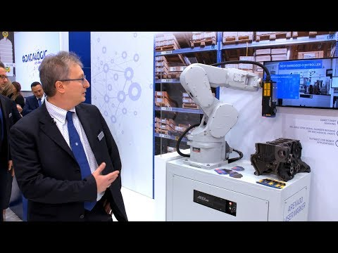 Datalogic LIVE @SPS IPC Drives 2018 | New AREX400™
