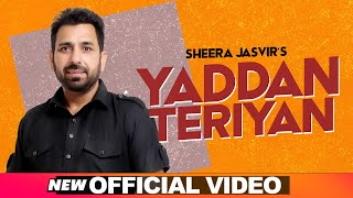 SHEERA JASVIR Live 3 | Yaadan Teriyan (Official Video) | Latest Punjabi Songs 2020 | Speed Records