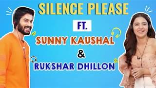 Hilarious Silence Please ft. Sunny Kaushal & Rukshar Dhillon | Bhangra Paa Le