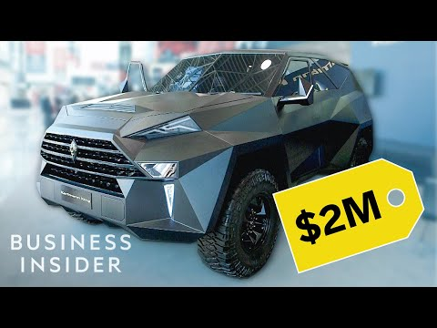 Ridiculously Expensive Bulletproof SUV
