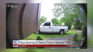 Police Searching for Driver of Truck in Attempted Theft in Anniston
