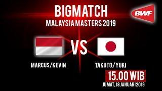 Live Streaming Perempat Final Malaysia Masters 2019, The Minions Hadapi Musuh Bebuyutan Asal Jepang