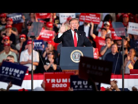 President Trump ejects protester from Pennsylvania rally