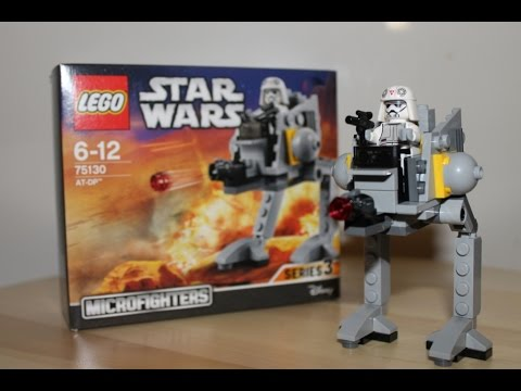 Vidéo LEGO Star Wars 75130 : AT-DP