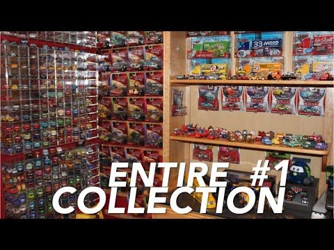 My Entire Disney Pixar Cars Collection - 2006 To 2019 - World's Largest (Part 1)