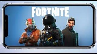 Fortnite Battle Royale На Android и iOS от Epic Games Скачать