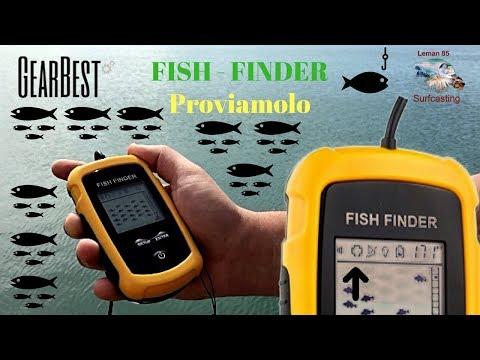 Ecoscandaglio da PESCA...FISH FINDER , Proviamolo insieme  (Recensione)